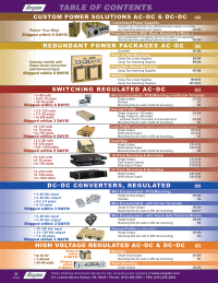 Power Supply Catalog