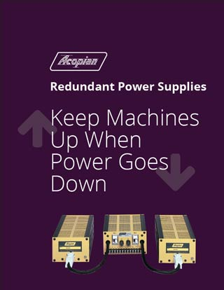 Whitepaper: Keep Machines Up When Power Goes Down